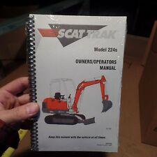 SCAT TRAK 224S OWNERS/OPERATORS MANUAL MODEL, 8990406, OMNIQUIP, N.O.S