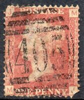 1872 Sg 43 1d rose-red 'MJ' Plate 159 with 405 Ipswich Duplex Cancel Fine Used