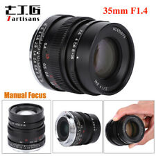 7artisans 35mm F1.4 Aperture Manual Focus Fixed Lens for Sony E-mount Mount A7R