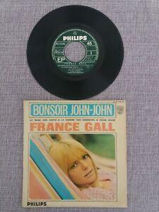 FRANCE GALL Bonsoir John-john 1966 EP PHILIPS 437.259 Pop Rock Ye-ye 60's
