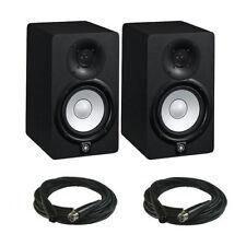 "Yamaha HS5 Powered Studio Monitor PAIR, 5"", 2Way, 70W - Free Ship & XLR Cables"
