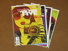 NEW YORK FIVE #1 - 4 VF/NM BRIAN WOOD COLLEGE FRESHMEN HIPSTER ODE TO NYC SEQUEL