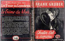 FRANK GRUBER ¤ CHESTER ERB A DISPARU ¤ EO 1949 TOUR DE LONDRES 31