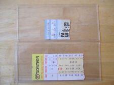 ELVIS Presley Original Concert Ticket Stubs, Lot of (2), 1976 & 1977, Ohio, R.I.