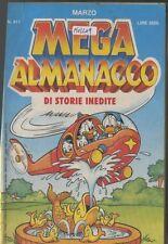 MEGA ALMANACCO marzo 1991 411 fumetto walt disney
