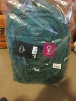 Womens New Osprey Questa 27 Backpack Size OS Color Tropical Green