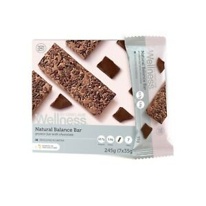 Oriflame Wellness Natural Balance Bar chocolate cacao beans 7pcs SALE