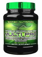 SCITEC NUTRITION Multi-Pro Plus 30 Packs Premium High Level Multi Vitamins !