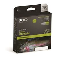 Rio InTouch Gold Fly Line, Wf5F, Moss/Gray/Gold.New