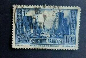 🟪..FRANCE - 1929/31 Stamp Exhibition in Le Havre - 10  FRANCS BLUE  - FINE USED