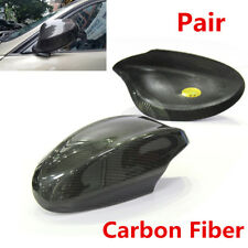 For BMW E90 E91 330i 335i Pre LCI 2005-2008 Pair Carbon Fiber Side Mirror Caps