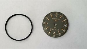 LONGINES CONQUEST WOMENS TITANIUM VHP 4025 TI DIAL /FACE  MAY FIT OTHER MODELS