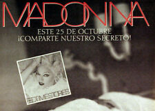 MADONNA Poster 1994 Bedtime Stories Original Mexican Promo
