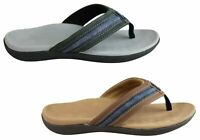 Mens Scholl Orthaheel Crown Comfortable Supportive Thongs - ModeShoesAU