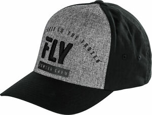 Fly Racing Fly Flex-Fit Powder Crew Hat Heather Sm-Md 351-0596S