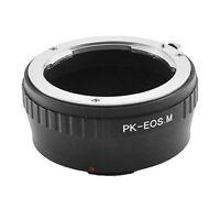 Pentax K PK Mount Lens to Canon EOS M M2 M3 EF-M PK-EOS M Camera Adapter Ring