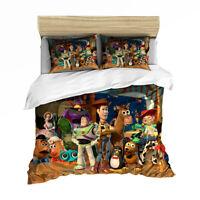 Toy Story Single/Double/Queen/King Size Bed Doona/Duvet/Quilt Cover Set Linen