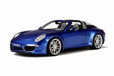 1:18 GT Spirit Porsche 911 991 Targa 4s Blue metatllic 2014 nuevo New