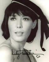 LILY TOMLIN SIGNED AUTOGRAPHED 8x10 PHOTO LEGENDARY COMMEDIAN BECKETT BAS