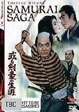 Samurai Saga (DVD, 2006) - Region 4