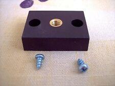 1/4-20 telescope tube to tripod adapter hard to find part  - NEW