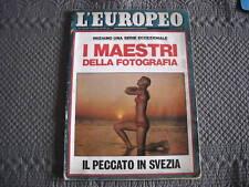 L'EUROPEO 30/1968 - I MAESTRI DELLA FOTOGRAFIA
