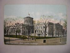 VINTAGE POSTCARD OF THE STATE CAPITOL BUILDINGS IN COLUMBUS, OHIO UNUSED
