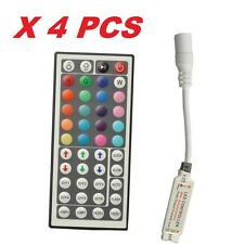 Mini 44 Key IR Remote Controller DC 12V For LED RGB 3528 5050 Light Strip X 4 PC