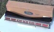 1973 73 LTD NOS Ford Rear Bumper Emblem Reflector Ornament Trunk Deck Lid