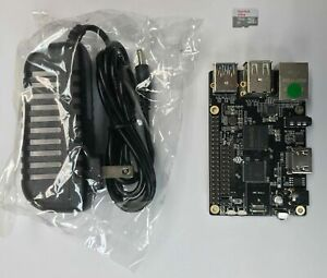 ROCK64 1GB Single Board Computer Kit V2 includes MicroSD and Power Adapter 10 PA