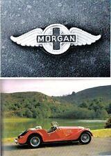 Morgan PLUS 8 Plus 4 4/4 1600 original del Reino Unido Folleto de ventas Circa 1988