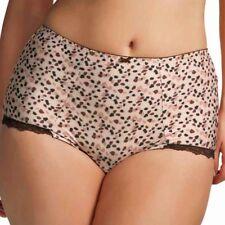 Elomi Confetti Collection 4XL Boyshort Panty Chocolate Chip 4X New