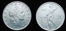 1954  Repubblica Italiana   50   lire