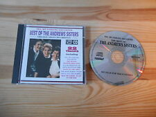 CD Jazz Andrew Sisters - Best Of Yes, My Darling Daughter (22 Song) CASTLE COMM
