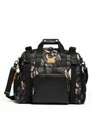 Tumi Alpha Bravo Grey Camo Buckley Gym Laptop Travel Satchel Duffel Bag New $575
