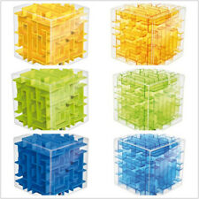 3D Maze Magic Cube Puzzle Speed Cube Labyrinth Ball Toy Maze Ball fun brain game