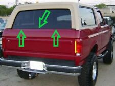 1978-1996 FORD BRONCO FULL SIZE TAILGATE WEATHERSTRIP KIT, 2 PIECES