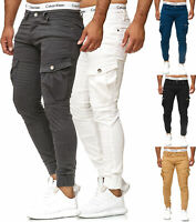 Chinohose Jeans Jogg Jogger Skinny Fit Cargo Stretch W29-W38 Herren