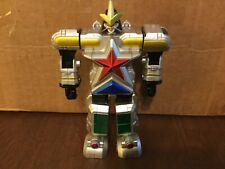 "Power Rangers Zeo Sword Swinging Super Zeo Megazord 5.5"" Figure Bandai 2562 1996"