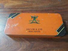 Vintage Jacob & Co's Cream Crackers Sample Tin - No.9764