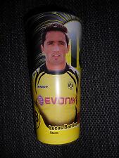 BVB Stadionbecher - Lucas Barrios - Borussia Dortmund Becher-Rarität!