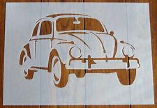 VW Beetle Maschera Stencil Riutilizzabile Mylar Foglio per Arts & Crafts