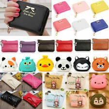 Women Kid Cartoon Wallet Cute Coin Bag Pocket Purse Handbag Cards Holder Pouch !
