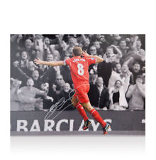 Steven Gerrard Signed Liverpool Photo - The Best There Ever Will Be