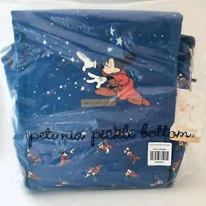 Petunia Pickle Bottom Fantasia Sorcerer Mickey Mouse Diaper Bag Boxy Backpack
