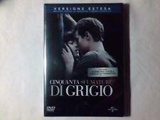 CINQUANTA SFUMATURE DI GRIGIO dvd VERSIONE ESTESA SIGILLATO SEALED!!! 50
