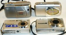 Lot of 4 Olympus Compact Digital Cameras