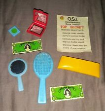 The Bionic Woman Purse Contents.  Kenner 1970s
