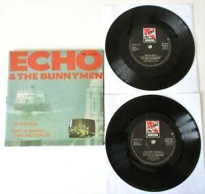 "Echo & The Bunneymen - Seven Seas UK 1984 Korova Numbered 2 x 7"" Single Set"