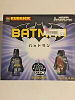 Medi-Com~Batman~Kubrick~DC Direct Exclusive Set~ Mini Figures~2003~Brand New~NM!
